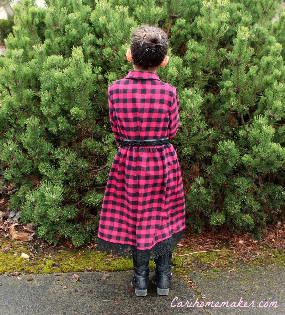 Flannel Dress 2