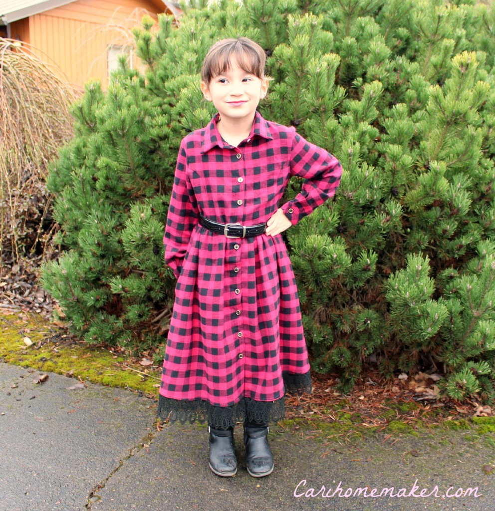 Flannel Dress 6