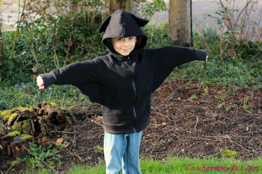 Bat Hoodie 2
