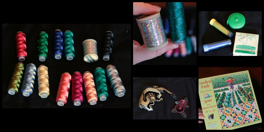 Threads and misc Collage